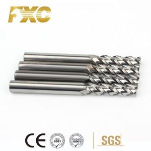 aluminum long shank end mill